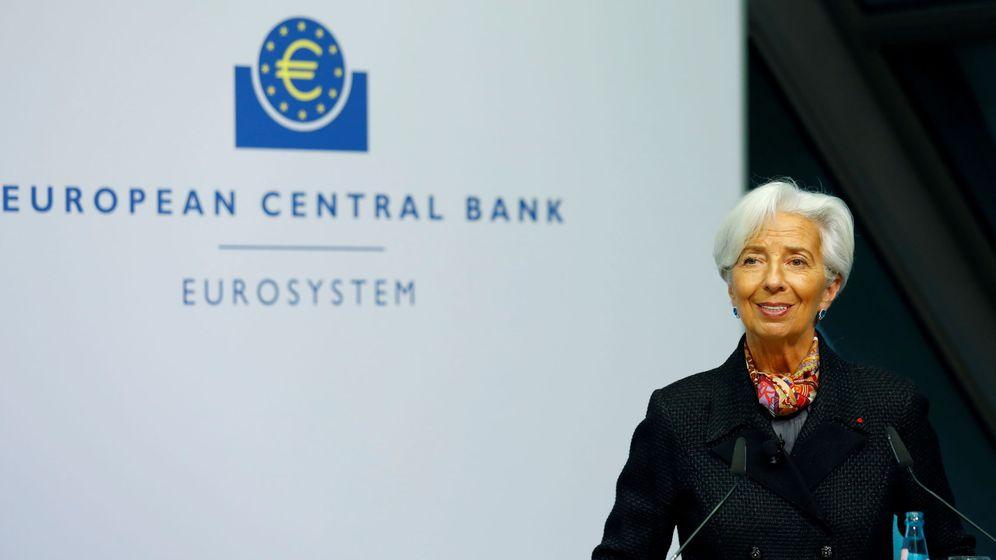 Foto: Chritine Lagarde en el Banco Central Europeo. (Reuters)