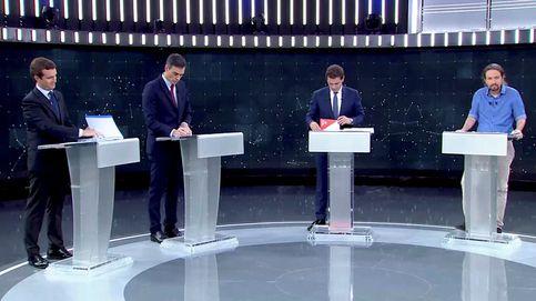 Debate electoral, en directo | Casado y Rivera consolidan su bloque contra Sánchez