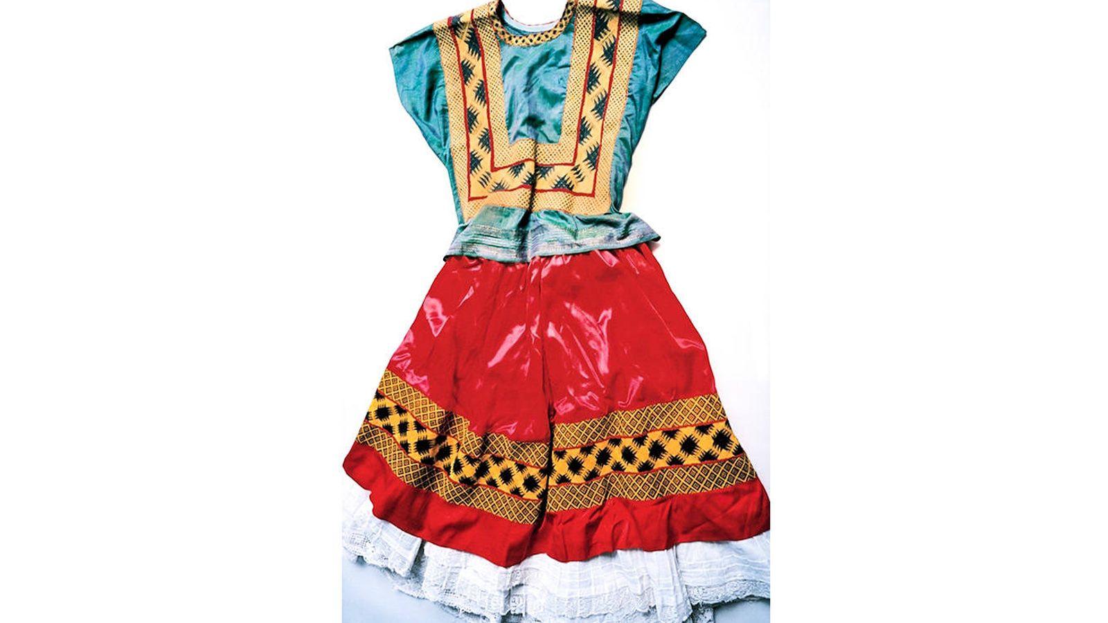 Cultura Los Vestidos Perdidos De Frida Kahlo