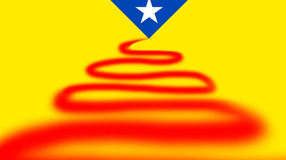 Foto: Independencia de Cataluña. (Imagen: E. Villarino)