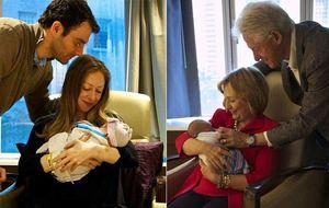 Bill y Hilary Clinton ya son abuelos de una niña llamada Charlotte