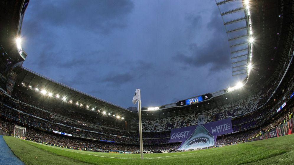 Foto: Vista general del Estadio Santiago Bernabeu en una imagen de archivo. (EFE)