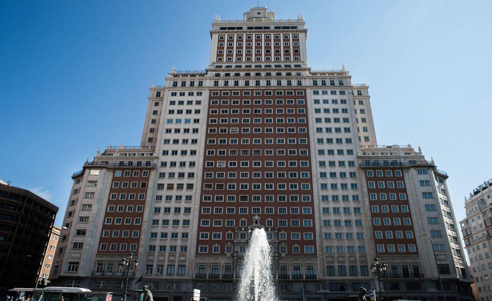 Foto: Edificio España. (D. Muñoz)