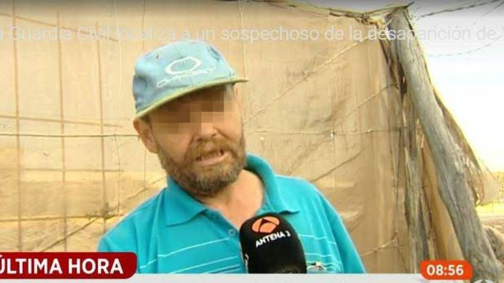 Foto: En la imagen, el sospechoso entrevistado por 'Espejo Público' de Antena 3.