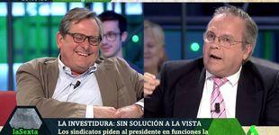 Post de Marhuenda disfruta en 'La Sexta noche' con la bronca entre Carmona y Maestre