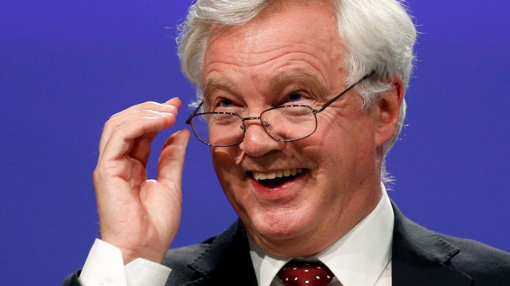 Foto: El negociador británico para el Brexit, David Davis, durante la tercera ronda de negociaciones en Bruselas. (Reuters)