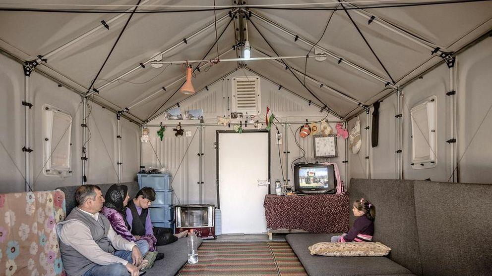 Ikea diseña de la república independiente del refugiado
