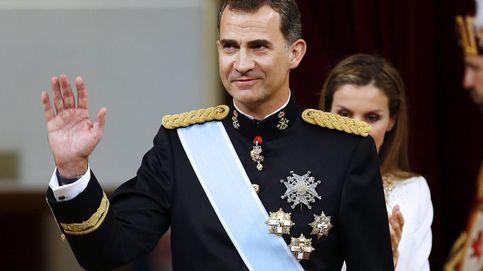 Felipe VI: de 'aprendiz de rey' con un Seat Ibiza a su primera investidura