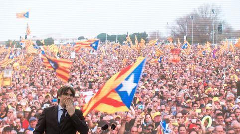 Perpiñán se convierte en la proclamación popular de Puigdemont como candidato
