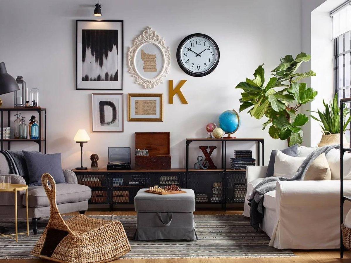 Foto: La propuesta de Ikea para integrar el estilo industrial en tu casa. (Cortesía)