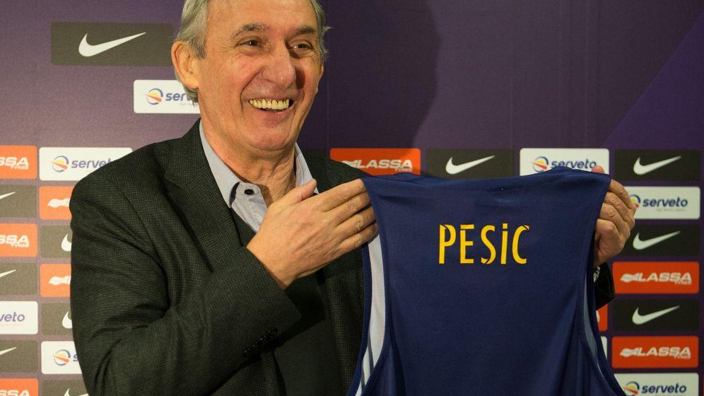 Foto: Svetislav Pesic vuelve al FC Barcelona 14 años después. (EFE)