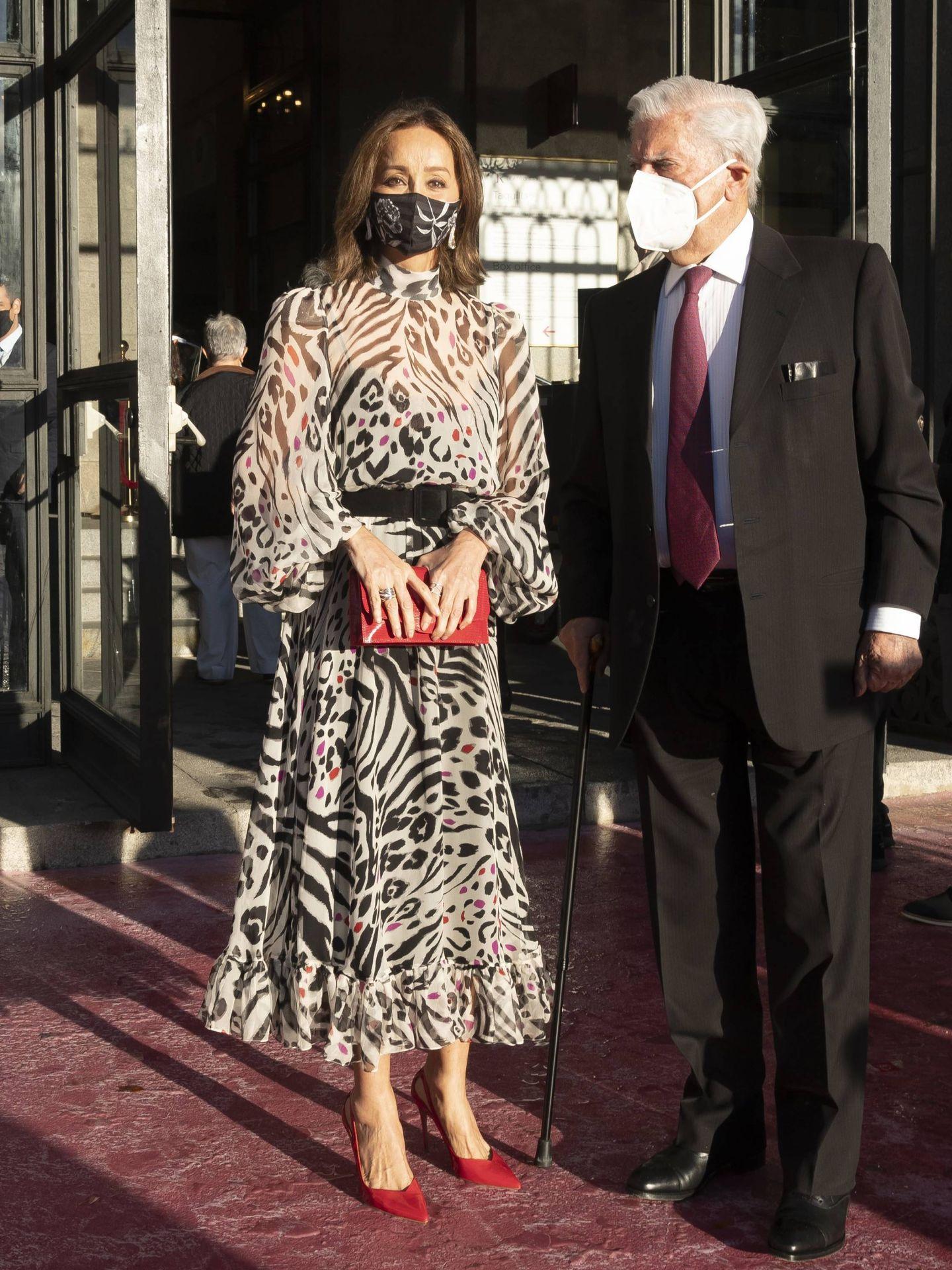 Isabel y Mario, en la inauguracion de la temporada del Teatro Real.