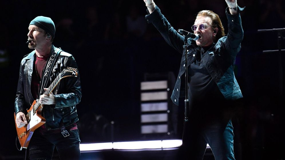 Foto: U2 es el grupo mejor pagado de 2018 (EFE)