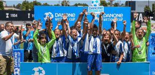 Post de La gran fiesta del fútbol alevín llega a España