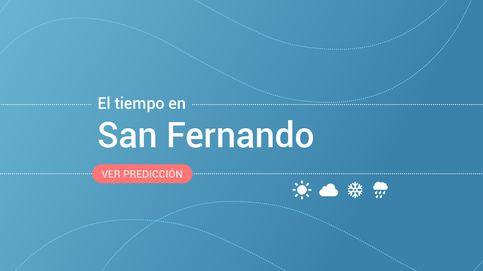 El tiempo en San Fernando: previsión meteorológica de hoy, miércoles 13 de noviembre