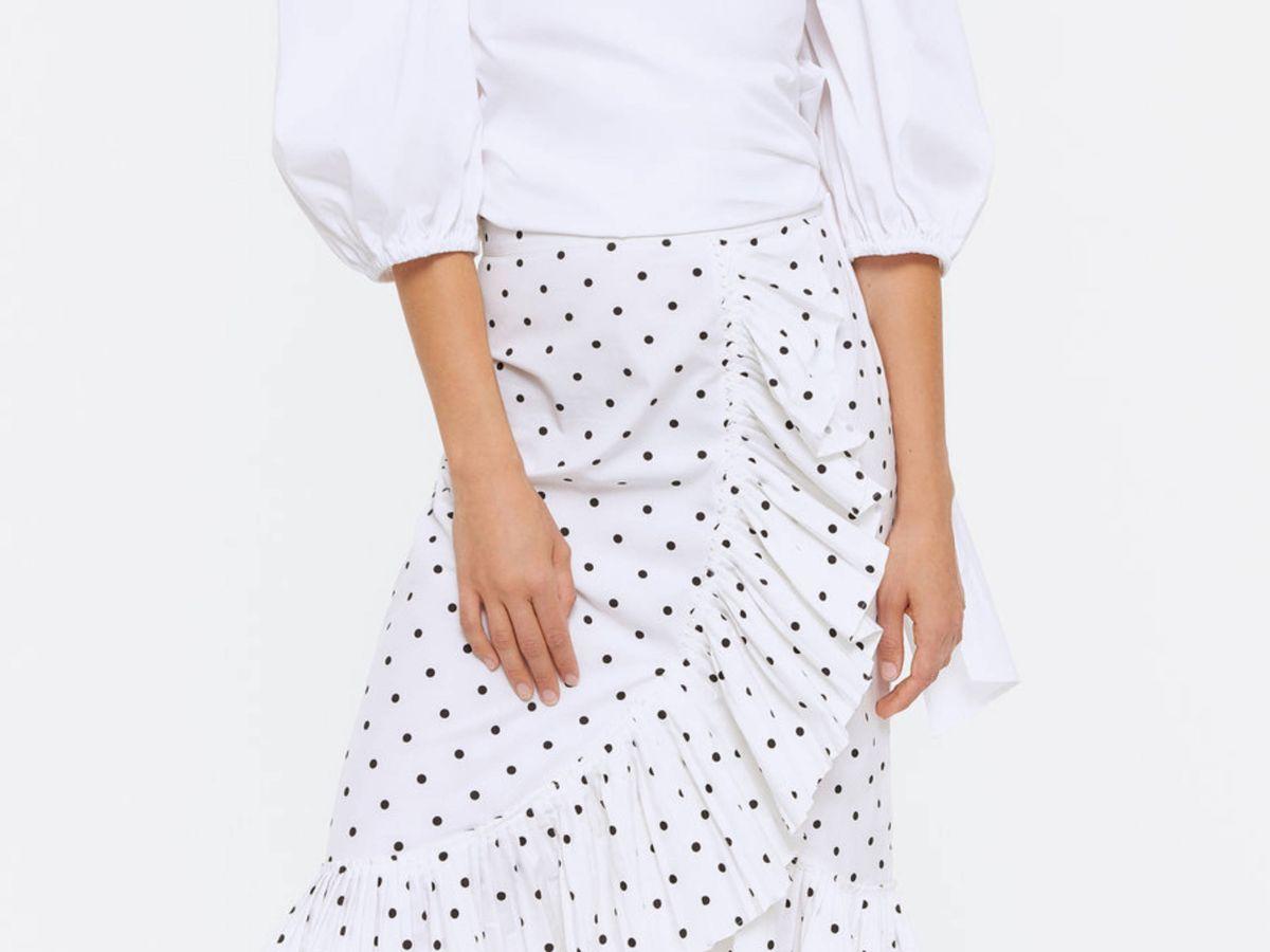 Foto: La falda de Uterqüe. (Cortesía)