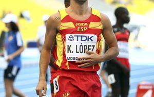 Kevin López es realista, Ruth Beitia es la única opción de medalla