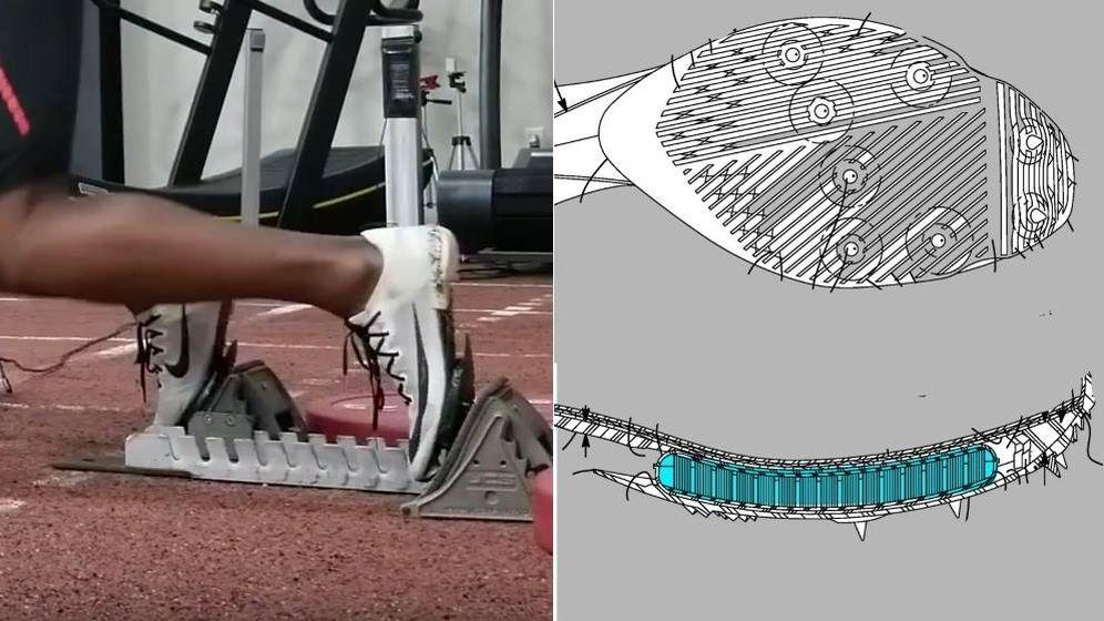 Foto: El prototipo de zapatillas Nike que puede revolucionar las pruebas de velocidad.