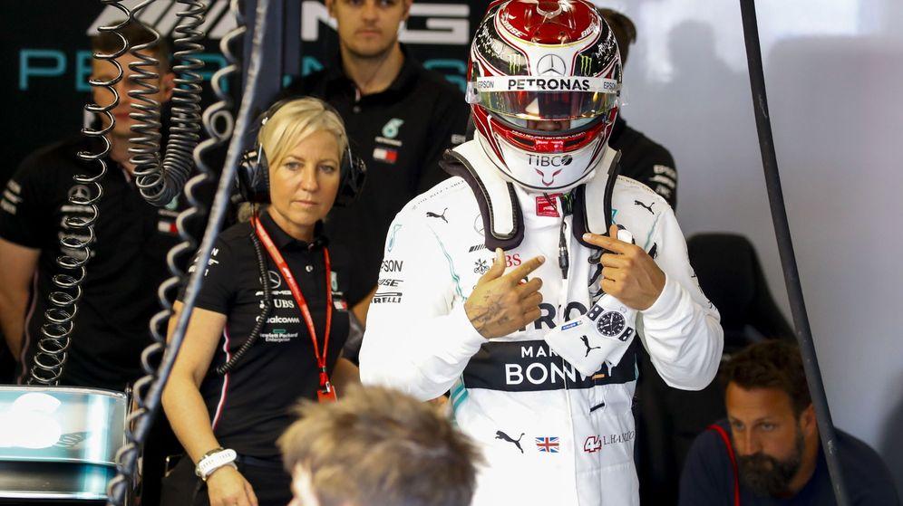 Foto: Lewis Hamilton en Australia. (EFE)