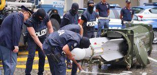 Post de La policía italiana halla un misil aire-aire en redadas a grupos ultraderechistas