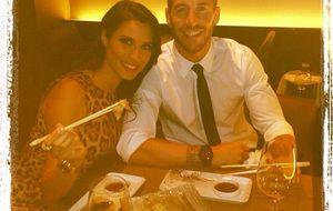 Sergio y Pilar cenan sushi