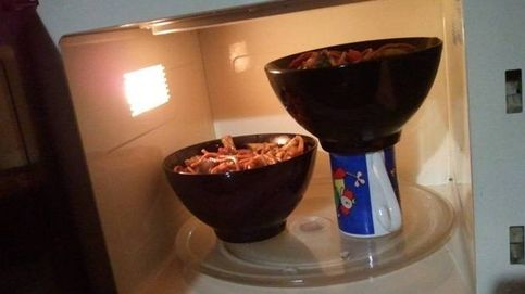 Meter dos pizzas en la misma bandeja: trucos de cocina que necesitabas