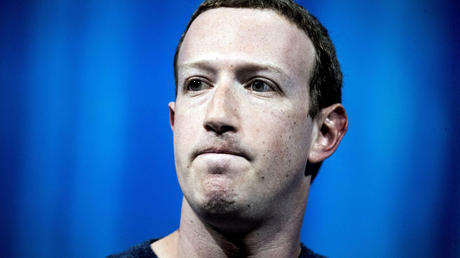 Foto: Mark Zuckerberg en la convención Vivatech 2018 en parís. (Efe/Etienne Laurent)