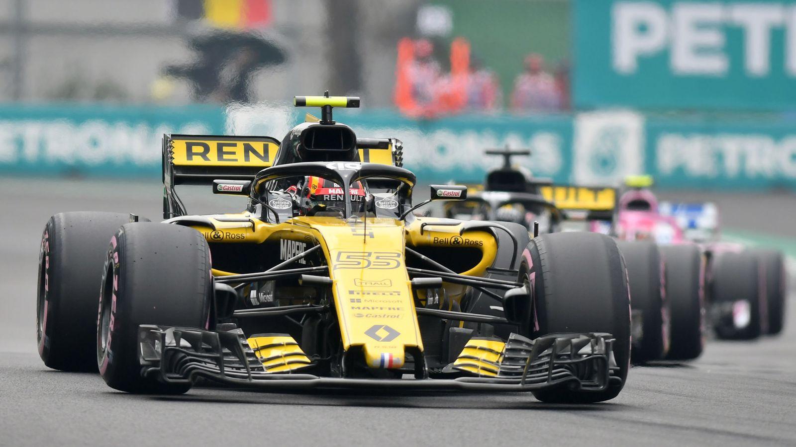 Foto: Sainz no se encontró cómodo con su Renault en clasificación. (EFE)