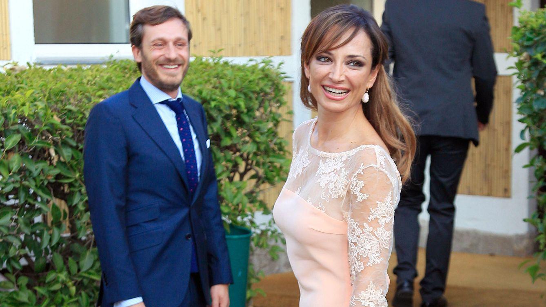 Foto: El cantante Juan Peña junto a su mujer, Sonia González (Gtres)