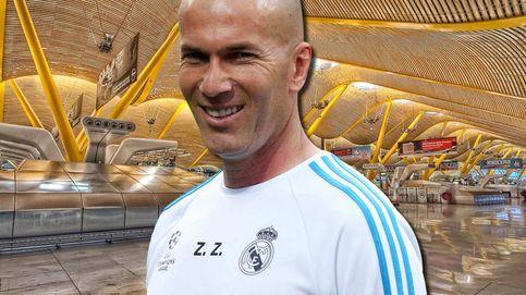 Pillamos a Zidane marchándose de vacaciones con su familia, ¿dónde?