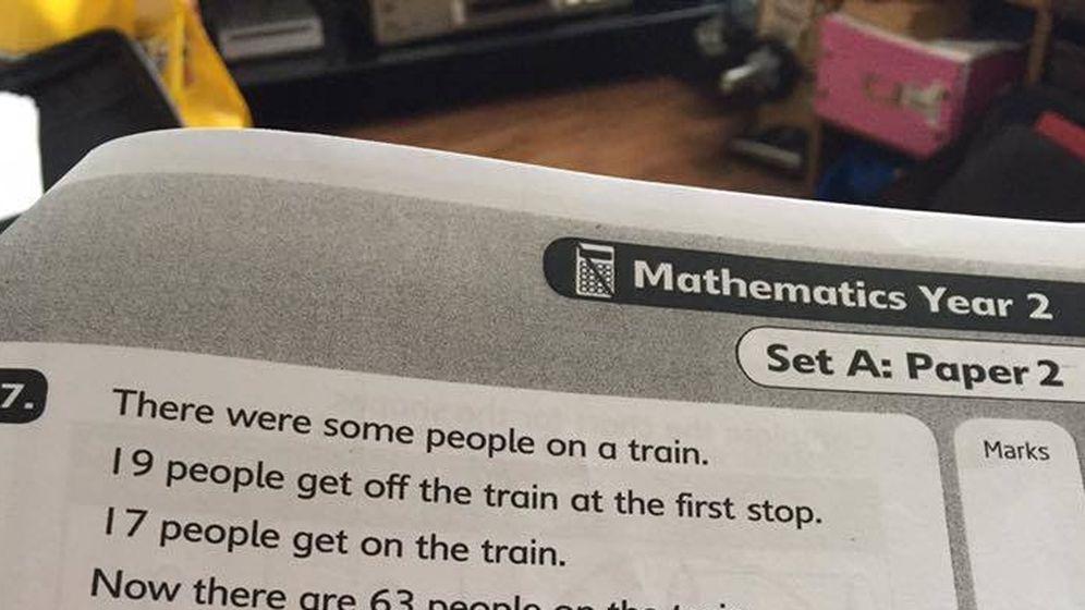 Foto: El problema que ha vuelto locos a los padres. (Facebook/Parents against Primary Testing)