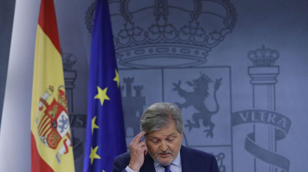Foto: Rueda de prensa de ÍÑigo mÉndez de vigo