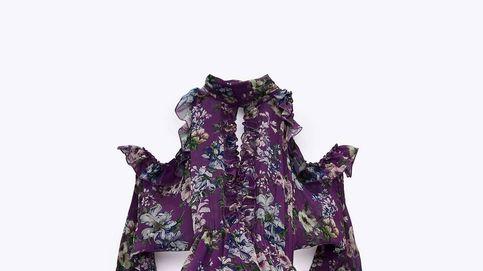 Este vestido de flores de Zara sí es apto para triunfar como invitada de otoño e invierno