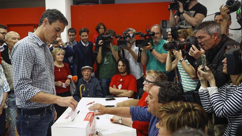 Foto: El candidato a la secretaría General del PSOE, Pedro Sánchez. (EFE)