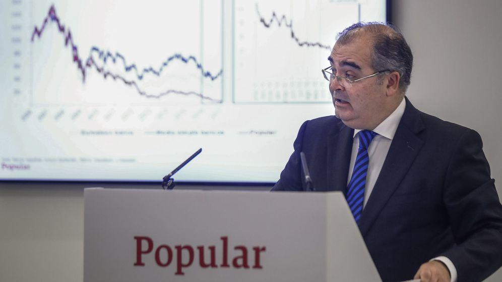 Foto: El hasta ahora presidente del Banco Popular, Ángel Ron. (EFE)