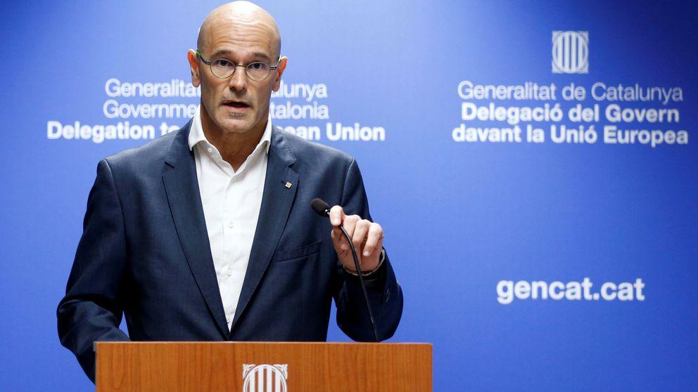 Romeva asegura que los funcionarios no seguirán órdenes del Gobierno de Rajoy