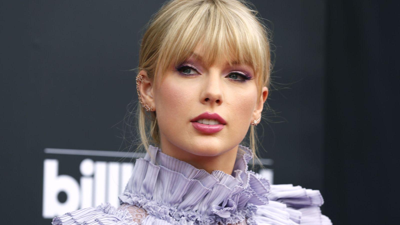 Foto: Taylor Swift en Las Vegas. (Reuters)