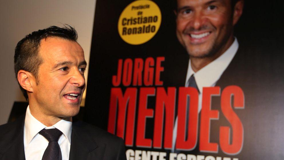 Florentino se cansa de hacer el primo mientras Mendes ejerce de agente doble