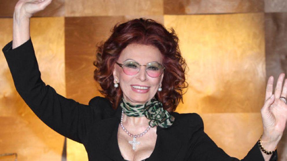 Sofía Loren vuelve al cine de la mano de su hijo Edoardo Ponti