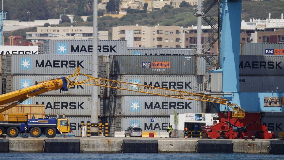 Foto: Imagen del Puerto de Algeciras (Efe)