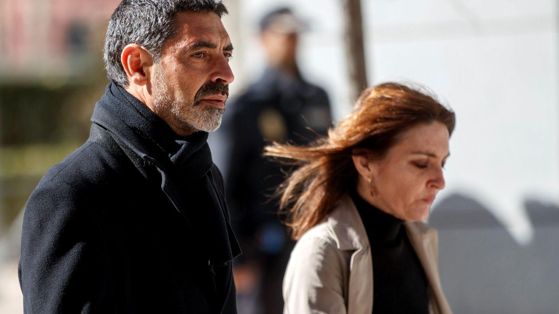 Josep Lluís Trapero, en Madrid. (Reuters)