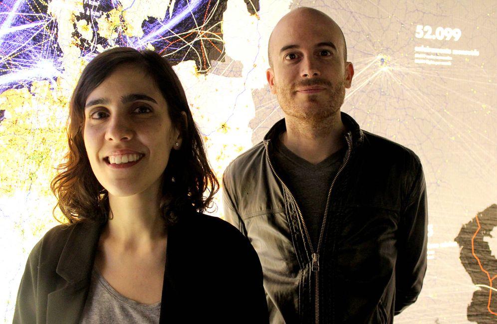 Foto: Mar Santamaría y Pablo Martínez, ganadores del Premio Nacional de Urbanismo 2019.