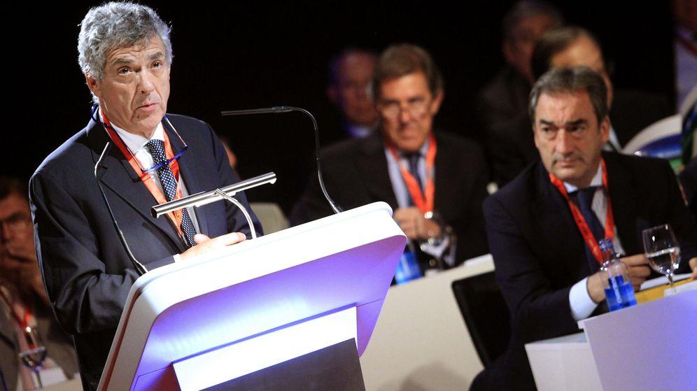 Foto: Ángel María Villar, en una Asamblea de la RFEF (Efe).