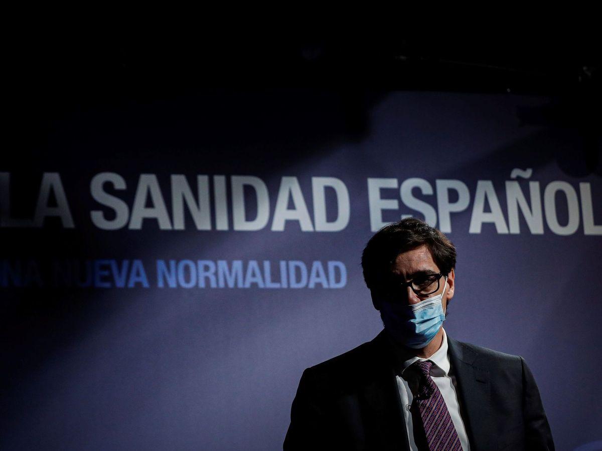 Foto: El ministro de Sanidad, Salvador Illa. (EFE)