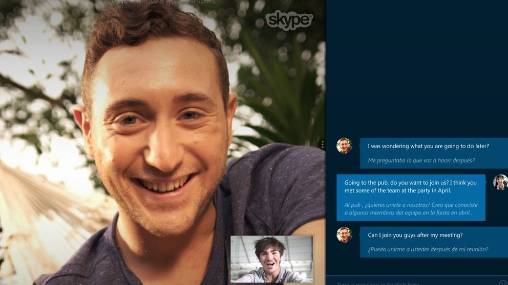 Skype presenta Translator, su traductor en tiempo real