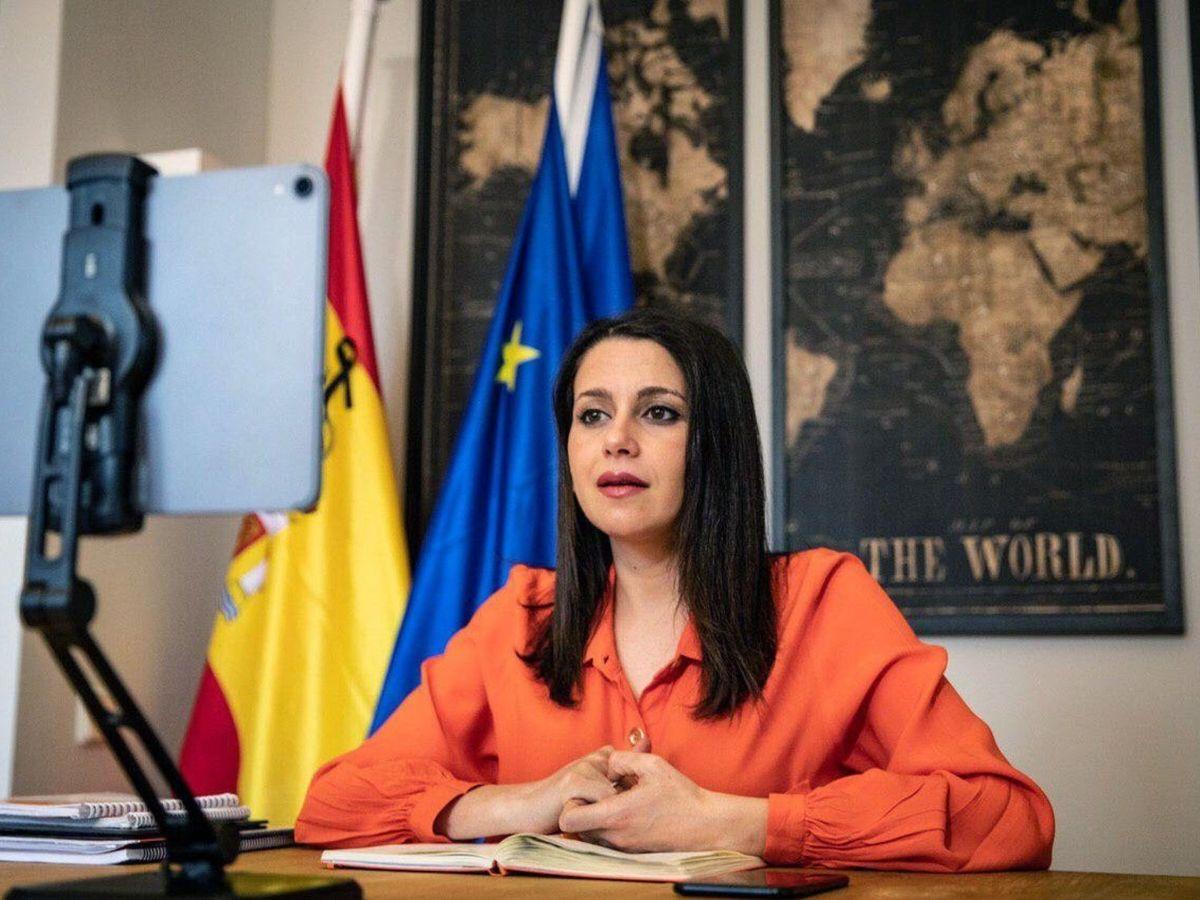 Foto: La líder de Cs, Inés Arrimadas. (Pedro Ruiz)