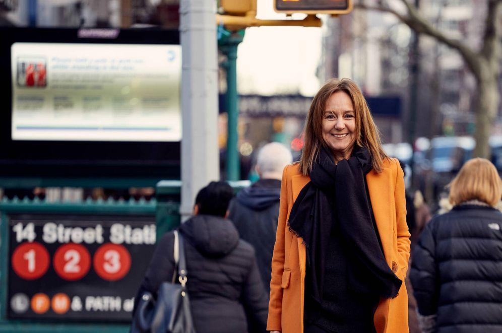 Foto: María Dueñas en Nueva York. (Carlos Luján)