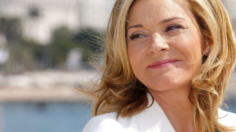Kim Cattrall, durante el Festival de Cannes de 2014. (EFE)