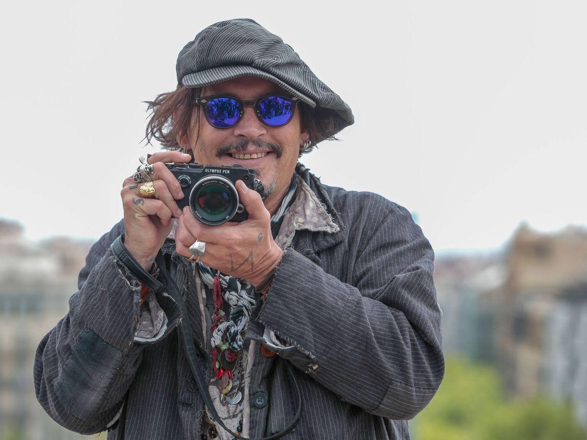Foto: Johnny Depp en un reciente photocall en Barcelona. (Getty)
