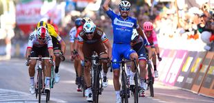 Post de La dulce derrota de Alejandro Valverde ante su pupilo Alaphilippe en San Remo